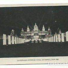 Postales: EXPOSICIÓN INTERNACIONAL DE BARCELONA 1929, PALACIO NACIONAL.. Lote 161225410