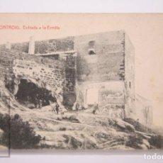 Postales: ANTIGUA POSTAL - 15. MONTROIG. ENTRADA A LA ERMITA - 8695, ED. THOMAS - SIN CIRCULAR. Lote 161245946