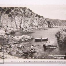 Postales: POSTAL FOTOGRÁFICA - Nº 22. COSTA BRAVA, SANT FELIU DE GUIXOLS. LES MONGETES - ED. MR. Lote 161249802