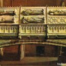 Postales: POBLET (TARRAGONA), SEPULCROS REALES. Lote 161275238