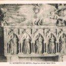Postales: RIPOLL (GERONA), SEPULCRO DEL ABAD OLIVA, EDITOR. ROISIN Nº 14. Lote 161276422