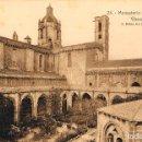 Postales: MONASTERIO DE SANTES CREUS, TARRAGONA, CLAUSTRO, EDITOR: ROISIN Nº 25. Lote 161279238