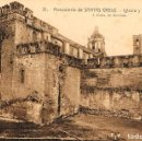 Postales: MONASTERIO DE SANTES CREUS, TARRAGONA, IGLESIA Y FACHADA PRINCIPAL, EDITOR: ROISIN Nº 21. Lote 161279342