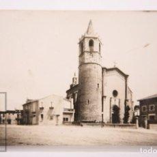 Postales: POSTAL FOTOGRÁFICA - SANTA MARÍA DE PALAUTORDERA. 8, PLAZA MAYOR Y PLAZA SANTA MARÍA - AÑO 1958. Lote 161323746