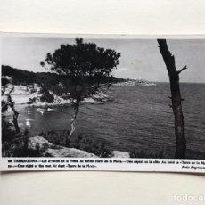 Postales - TARRAGONA. Postal No.96, Un aspecto de la Costa. Al fondo Torre de la Mora. Edita: foto Raymond - 161371373