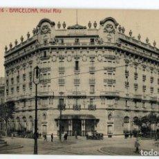 Postales: 0016 BARCELONA HOTEL RITZ ATV. Lote 161426106