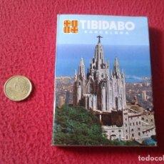Postales: BLOC ACORDEÓN TACO TIRA DE IMÁGENES FOTOS FOTOGRAFÍAS PHOTOS TIBIDABO BARCELONA PARQUE ATRACCIONES . Lote 161482498