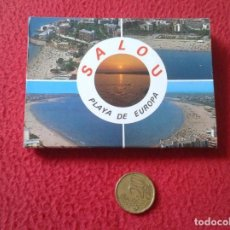 Postales: BLOC ACORDEÓN TACO TIRA DE IMÁGENES FOTOS FOTOGRAFÍAS PHOTOS SALOU PLAYA EUROPA TARRAGONA CATALUÑA. Lote 161539310