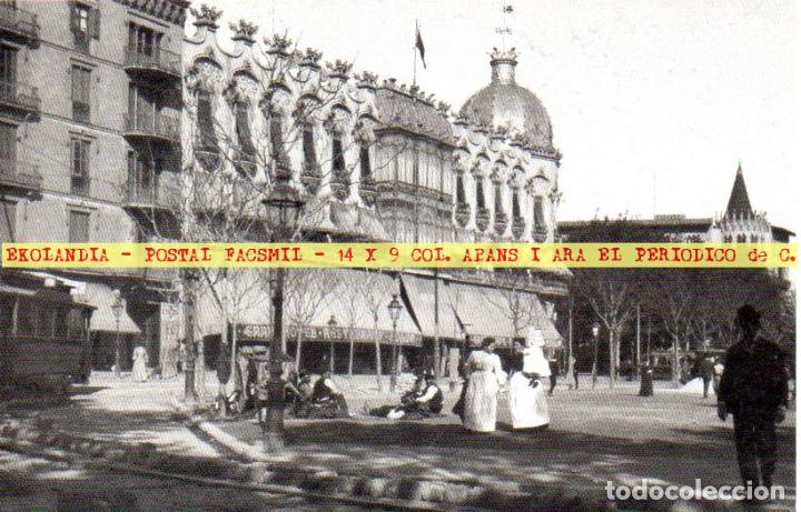 08 AIA TARJETA POSTAL 31 FACSIMIL DT2 ABANS I ARA EKL BARCELONA ~ HOTEL COLON ~ (Postales - España - Cataluña Antigua (hasta 1939))
