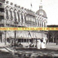 Postales: 08 AIA TARJETA POSTAL 31 FACSIMIL DT2 ABANS I ARA EKL BARCELONA ~ HOTEL COLON ~. Lote 161610518