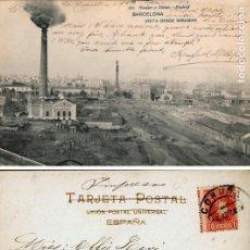 Postales: POSTAL BARCELONA VISTA DESDE MIRAMAR 260 HAUSER Y MENET. Lote 161831550