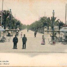 Postales: POSTAL BARCELONA PASEO DE COLON 933 HAUSER Y MENET. Lote 161832590
