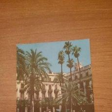 Postales: POSTAL BARCELONA PLAZA REAL ESCRITA. Lote 162027218