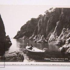 Postales: ANTIGUA POSTAL FOTOGRÁFICA - COSTA BRAVA. SANT FELIU DE GUIXOLS, Nº 31. CALA D'EN ROMAQUÉ - MR. Lote 162590890