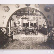 Postales: POSTAL FOTOGRÁFICA - S'AGARÓ, COSTA BRAVA. CHALET MIRAMAR - CIRCULADA, 1960. Lote 162591522
