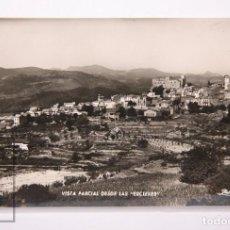 Postales: POSTAL FOTOGRÁFICA - VISTA PARCIAL DESDE LAS ESCLEXES - PAPIOL - ESCRITA AL DORSO, 1963. Lote 162677130