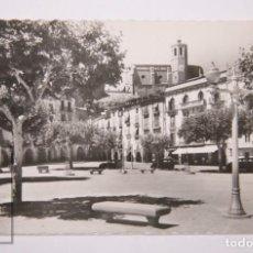 Postales: POSTAL FOTOGRÁFICA - 13. BALAGUER, PLAZA MERCADAL - ED. GARCÍA GARRABELLA - CIRCULADA, 1960. Lote 162684786