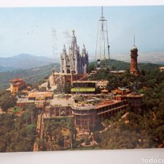 Postales: BARCELONA. CUMBRE TIBIDABO. 1974. Lote 162696572