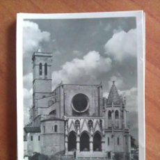 Postales: 1951 BASÍLICA DE LA SEO - MANRESA. Lote 162780162