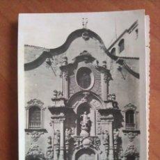 Postales: 1952 CUEVA DE SAN IGNACIO - FACHADA DE LA IGLESIA - MANRESA. Lote 162780822