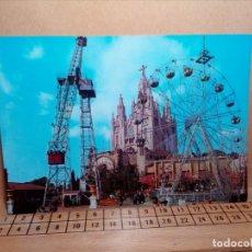 Postales: LOTE 11 POSTALES SIN CIRCULAR BARCELONA (AÑOS 70) GAUDÍ PARQUE GÜEL, TIBIDABO... - REF: 199/210. Lote 162930950