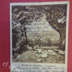 Postales: BELLVER DE CERDAÑA. VISTA PARCIAL. Lote 163335022