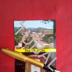 Postales: TUBAL SANTA MARIA D'OLÓ MOIANÈS VISTA PARCIAL INTERIOR ESGLESIA NOVA FOTO VALENTI SALA. Lote 163496590