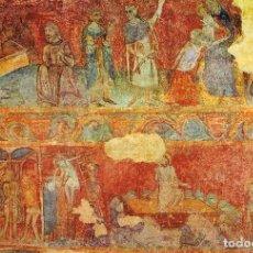 Postales: LLUÇÁ, PINTURA MURAL DEL SIGLO XIV. Lote 163576858