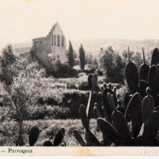 Postales: POSTAL FOTOGRAFICA CANYAMÀS - PARROQUIA - ESCRITA A L DORSO SIN SELLO. Lote 163607630