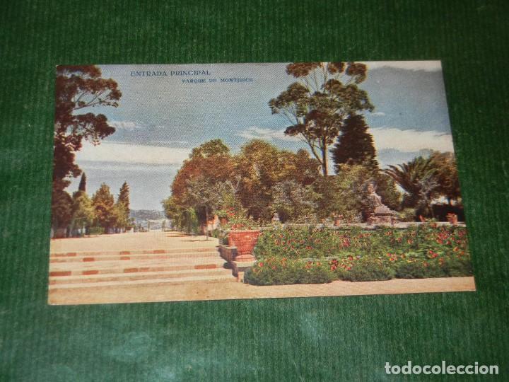 BARCELONA. PARQUE MONTJUICH. ENTRADA PRINCIPAL. EDICIONES VICTORIA. N. COLL SALIETI 629 (Postales - España - Cataluña Antigua (hasta 1939))