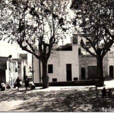 Postales: POSTAL FOTOGRAFICA EL MASNOU - OCATA - PLAZA GENERAL SANJURJO FOTO TORRES ESCRITA Y CIRCULADA. Lote 163749846