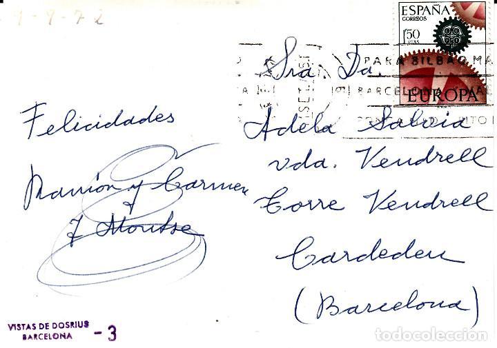 Postales: POSTAL FOTOGRAFICA - VISTAS DE DOSRIUS - ESCRITA Y CIRCULADA - Foto 2 - 163750326