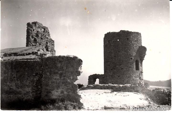 POSTAL FOTOGRAFICA ARGENTONA - CASTILLO BURRIACH FOTO A. GUELL - ESCRITA Y CIRCULADA (Postales - España - Cataluña Moderna (desde 1940))