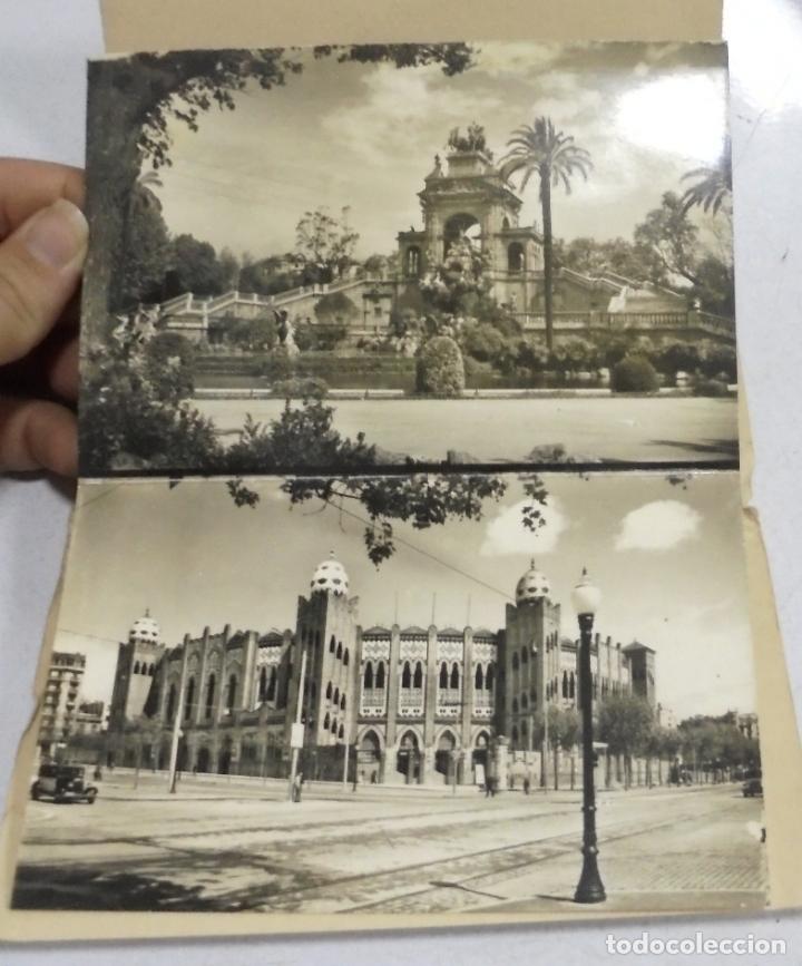 Postales: BLOCK DE 10 POSTALES. VISTAS DE BARCELONA. EDITORIAL FISA. VER POSTALES - Foto 2 - 163860590
