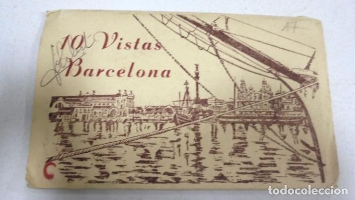 BLOCK DE 10 POSTALES. VISTAS DE BARCELONA. EDITORIAL FISA. VER POSTALES (Postales - España - Cataluña Antigua (hasta 1939))