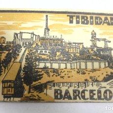 Postales: BLOCK DE 10 POSTALES. TIBIDABO. BARCELONA. L.ROISIN. VER POSTALES. Lote 163868978