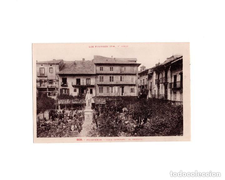 PUIGCERDA.(GERONA).- PLAZA CABRINETI. EL MERCADO. (Postales - España - Cataluña Antigua (hasta 1939))