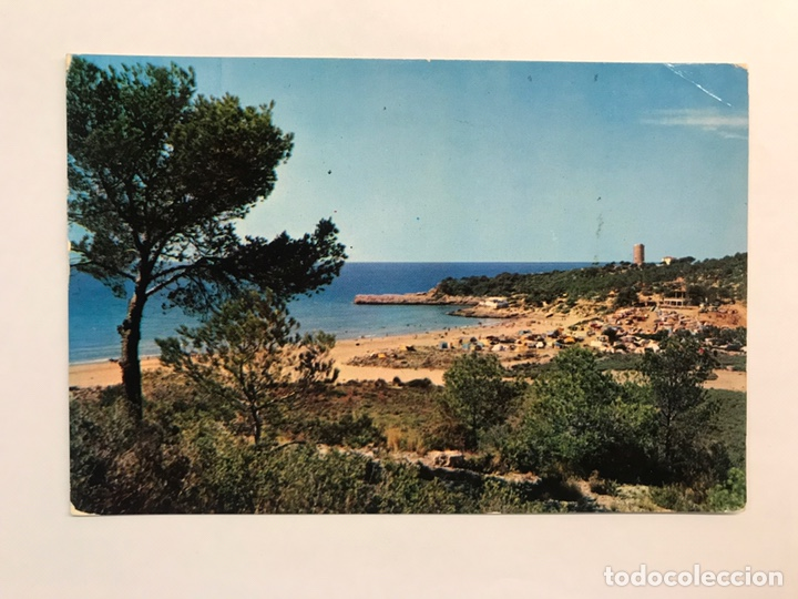 TARRAGONA. POSTAL NO.37, UN ASPECTO DE LA COSTA. AL FONDO TORRE DE LA MORA. EDITA: FOTO RAYMOND (Postales - España - Cataluña Moderna (desde 1940))