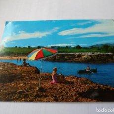 Postales: MAGNIFICA ANTIGUA POSTAL COSTA DEL SOL TARRAGONA AMETLLA DE MAR,CALA CALIFATO. Lote 164708626