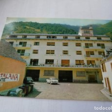Postales: MAGNIFICA ANTIGUA POSTAL VALLE DE ARAN BOSSOST HOSTELERIA CATALANA.. Lote 164710050