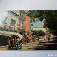 Postales: MAGNIFICA ANTIGUA POSTAL PINEDA DE MAR VISTA DEL PASEO DE LAS MELIAS. Lote 164710194