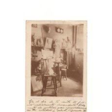 Postales: BARCELONA. PASEO DE GRACIAS. VISTA DEL TALLER. JOSEP SOLER FORCADA. Lote 164711406