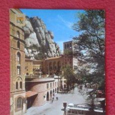 Postales: POSTAL POST CARD MONTSERRAT MONASTERIO DETALLE MONASTERY BARCELONA CATALUÑA SPAIN AUTOBUS...VER FOTO. Lote 165220338