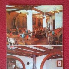 Postales: POSTAL POST CARD MASIA CATALANA RESTAURANT TIPIC LA FONT DELS OCELLETS BARCELONA PEDRALBES CATALUÑA . Lote 165220802
