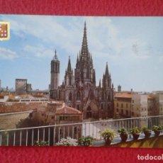 Postales: POSTAL POST CARD BARCELONA CATALUÑA LA CATEDRAL CATHEDRAL VER FOTO/S. ESPAGNE SPAIN CON SELLO STAMP. Lote 165222090