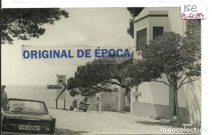 (PS-60394)POSTAL DE HOSPITALET DEL INFANTE-HOTEL RESTAURANTE INFANTE (Postales - España - Cataluña Moderna (desde 1940))