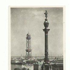 Postales: BARCELONA, MONUMENTO A COLÓN. Lote 165446942
