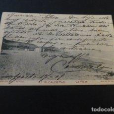 Postales: CALDETAS BARCELONA LA PLAYA. Lote 165449642