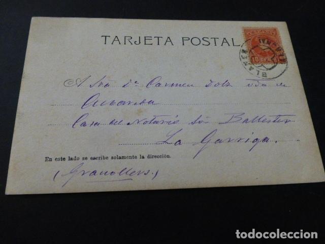Postales: BLANES GERONA POSTAL FOTOGRAFICA 1902 - Foto 2 - 165450866