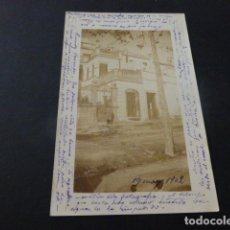 Postales: BLANES GERONA POSTAL FOTOGRAFICA 1902. Lote 165450866